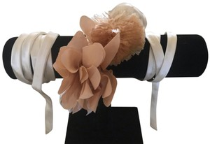 J.Crew JCrew flowery self tie belt