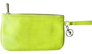 Juicy Couture Wristlet in chartreuse green/lime