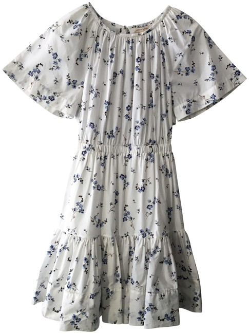 Preload https://img-static.tradesy.com/item/25227794/rebecca-taylor-white-blue-floral-cotton-mid-length-short-casual-dress-size-2-xs-0-1-650-650.jpg