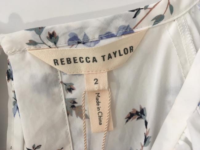 Rebecca Taylor short dress White Blue on Tradesy Image 10