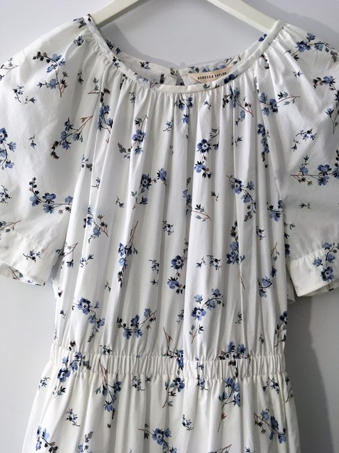 Rebecca Taylor short dress White Blue on Tradesy Image 9