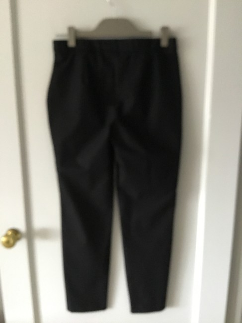 Theory Made In Usa Pull On Trouser Pants Blacke Image 2