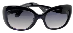 Roberto Cavalli RC828T-92W-53 Butterfly Women's Black Frame Grey Lens Sunglasses
