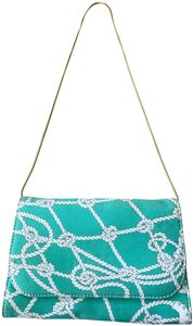 Hollywould Turquoise Clutch