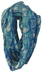 """Lilly Pulitzer Riley Infinity Loop Scarf """"What a Racquet"""""""