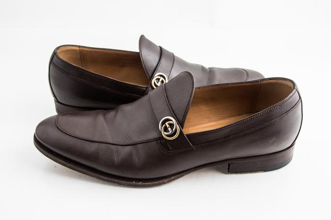 Item - Brown Leather Loafer Shoes