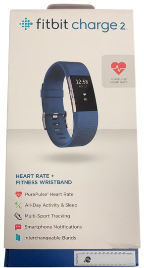 Preload https://img-static.tradesy.com/item/25228542/fitbit-stainless-steel-tracker-blue-band-charge-2-tech-accessory-0-1-540-540.jpg