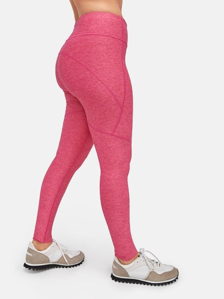 48dca01a5f7ec1 Outdoor Voices Pink Hi-rise 7 8 Warmup Activewear Bottoms Size 8 (M ...