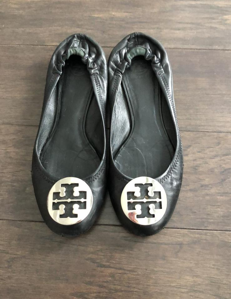 ab53dc47f Tory Burch Black Flats Size US 9 Regular (M