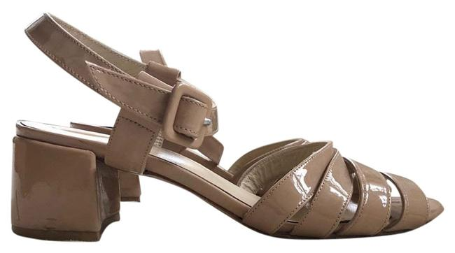 Item - Pink Nude Palma Low In Shell Patent Sandals Size EU 37 (Approx. US 7) Regular (M, B)
