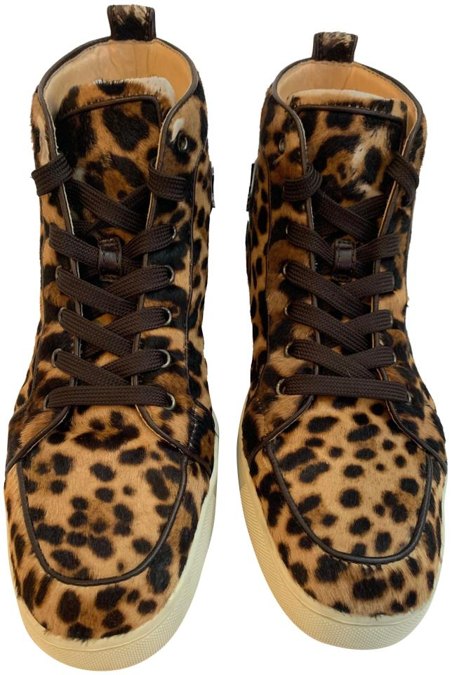 b8db484ff3d Christian Louboutin Exclusive Limited Edition Flat LEOPARD Athletic Image 0  ...