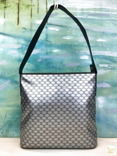 Céline Macadam Pvc Shoulder Bag Image 2