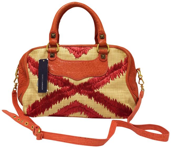 Item - Love Spell Coral Canvas Satchel