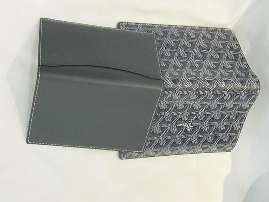 Goyard Goyardine Passport Wallet Grey Image 10