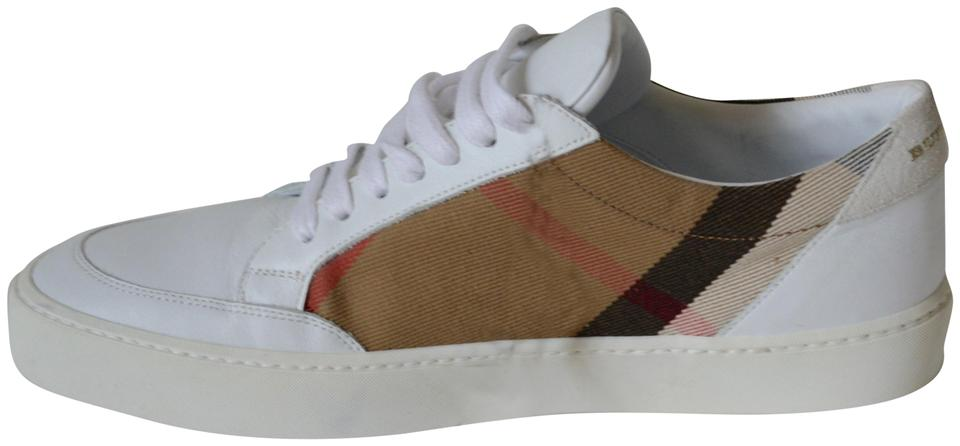 a3b396519cd Burberry House Check New Womens Leather Sneakers Eu 39 Sneakers Size ...