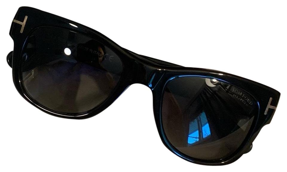 452d1bfbb9 Tom Ford Black Ft0058 Cary Sunglasses - Tradesy