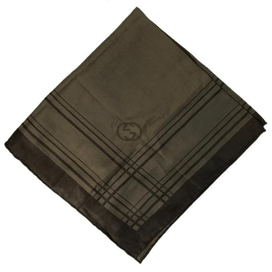 Gucci NEW GUCCI 255505 Men's Cotton Silk Square Pocket Handkerchief Image 11