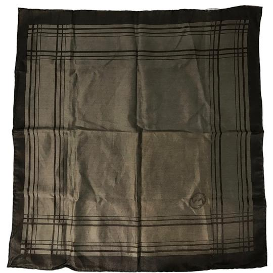 Gucci NEW GUCCI 255505 Men's Cotton Silk Square Pocket Handkerchief Image 2