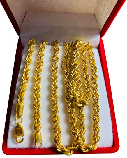 Preload https://img-static.tradesy.com/item/25230706/gold-unisex-rope-long-necklace-0-1-540-540.jpg