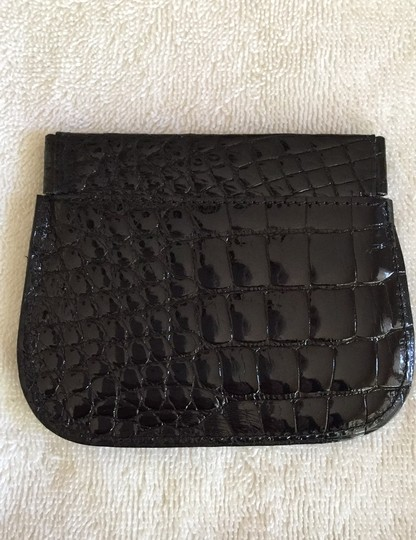 Neiman Marcus Alligator coin and card pouch Image 2