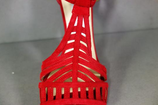 Jimmy Choo Red Sandals Image 2
