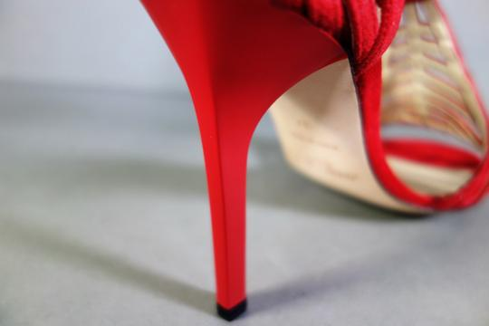 Jimmy Choo Red Sandals Image 5