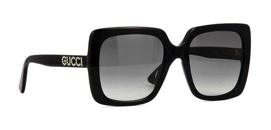 Gucci with Crystals Style GG0418s 001 -FREE and FAST SHIPPING - Large Image 4