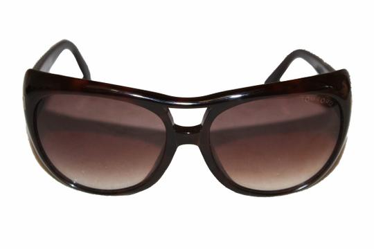 Tom Ford Tom Ford Brown Claudette Sunglasses Image 2