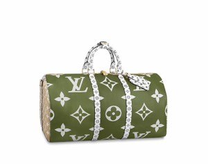 Louis Vuitton Keepall Keepall Bandouliere Keepall Giant Mng Giant Monogram Keepall Giant Kaki Travel Bag