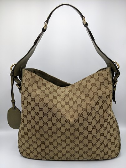 Gucci Gg Monogram Supreme Web Hobo Bag Image 3