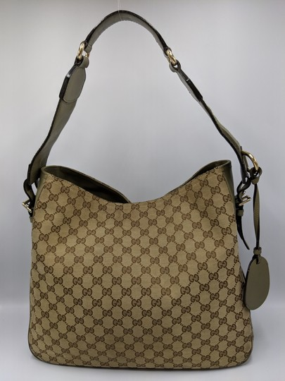 Gucci Gg Monogram Supreme Web Hobo Bag Image 5