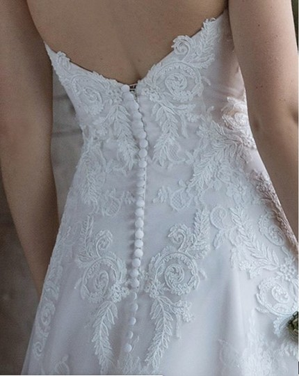 Pink Champagne/Ivory/Sand 4024d Traditional Wedding Dress Size 10 (M) Image 2