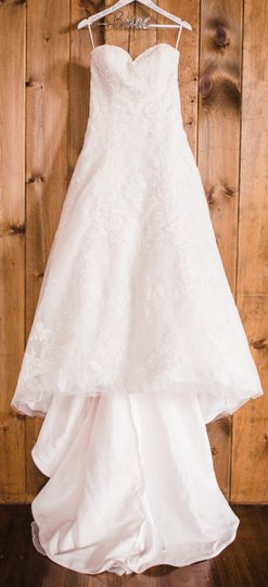Pink Champagne/Ivory/Sand 4024d Traditional Wedding Dress Size 10 (M) Image 7