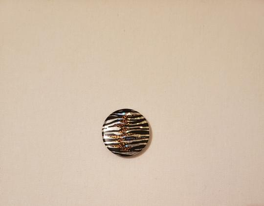 Isabel Marant Zebra/Leopard Print Button Pin Image 2