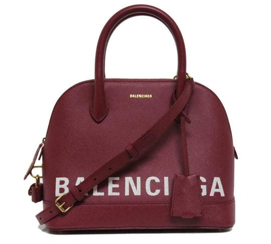 Preload https://img-static.tradesy.com/item/25231238/balenciaga-new-ville-duffle-top-handle-red-leather-messenger-bag-0-5-540-540.jpg