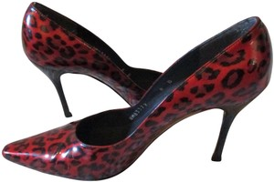 Stuart Weitzman Red Patent Pumps