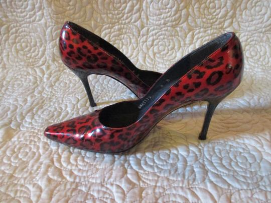 Stuart Weitzman Red Patent Pumps Image 11