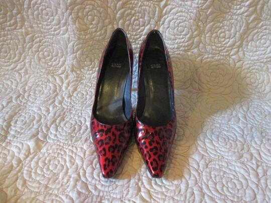 Stuart Weitzman Red Patent Pumps Image 7