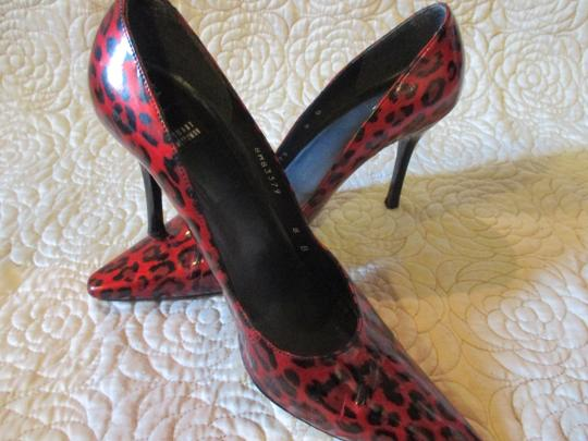Stuart Weitzman Red Patent Pumps Image 8