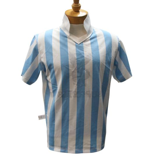 Supreme Blue and White Jersey Playboy Soccer Size S Mens Shirt Image 3