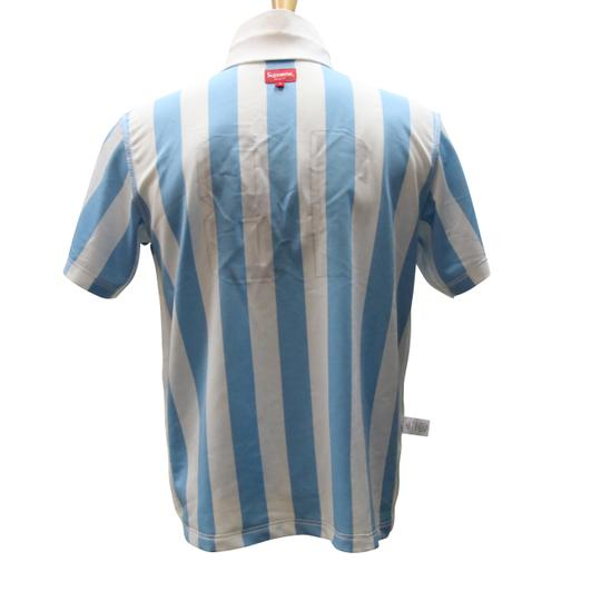 Supreme Blue and White Jersey Playboy Soccer Size S Mens Shirt Image 4