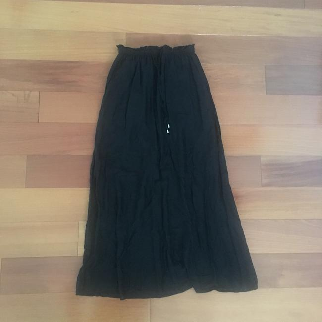 H&M Maxi Skirt Black Image 2