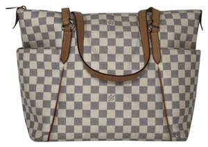 Louis Vuitton Lv Totally Totally Mm Damier Canvas Tote Shoulder Bag