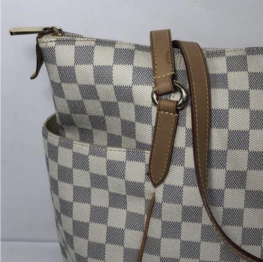 Louis Vuitton Lv Totally Totally Mm Damier Canvas Tote Shoulder Bag Image 2