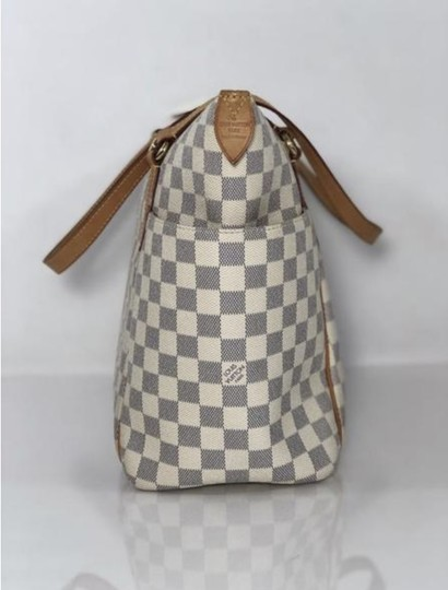 Louis Vuitton Lv Totally Totally Mm Damier Canvas Tote Shoulder Bag Image 3