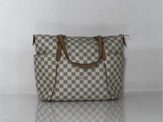 Louis Vuitton Lv Totally Totally Mm Damier Canvas Tote Shoulder Bag Image 5