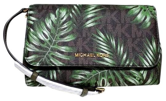 Michael Kors Jet Set Md Convertible Pouchette Cross Body Bag Image 0