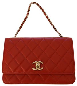 020bb6b55f8a Orange Chanel Bags - Up to 90% off at Tradesy