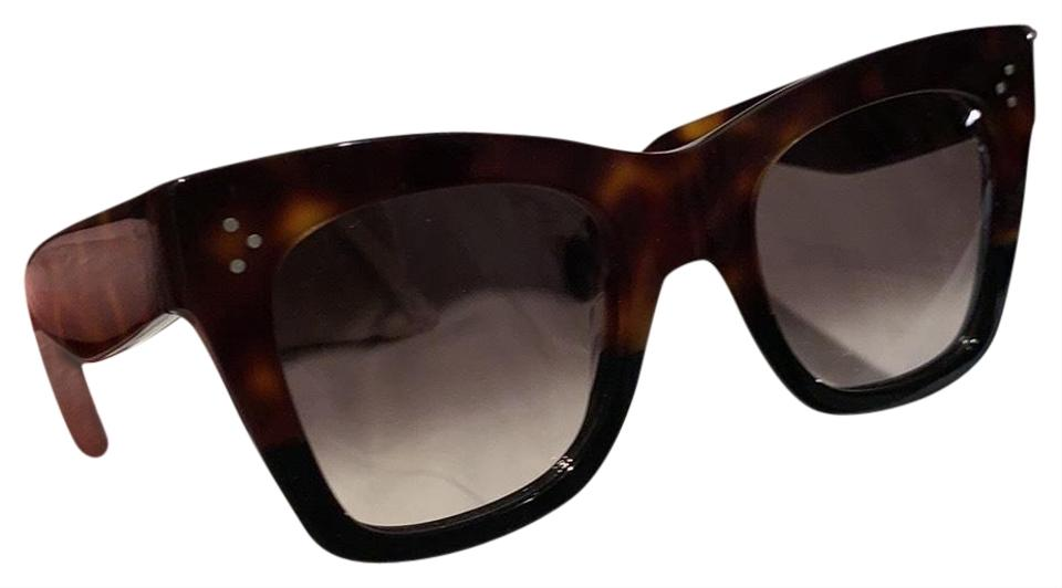 8231c7b904a3 Céline Tortoise Butterfly Glasses Sunglasses - Tradesy