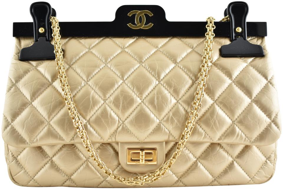 127f304c750f Chanel Classic Flap 2.55 Reissue 16k Hanger Black Reissue Quilted Cc ...